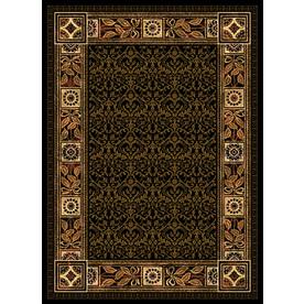 United Weavers Of America China Garden Brown Rectangular Indoor Woven Moroccan Area Rug (Common: 8 x 10; Actual: 94-in W x 126-in L)