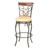 Hillsdale Furniture Knightsbridge Brown Cherry 30-in Bar Stool