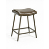 Hillsdale Furniture Saddle Brown Copper 30-in Adjustable Stool
