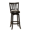 Hillsdale Furniture Presque Isle Black 25.5-in Counter Stool