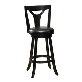 "Hillsdale Furniture 38-1/2"" Hollis Black Counter Stool"