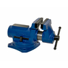 Yost 4-in Gray Iron Compact Bench Vise