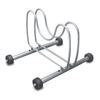 The Art of Storage 1-Bike Silver Steel Bike Stand