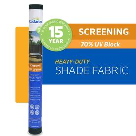 Coolaroo 6-ft W Black Shade Fabric