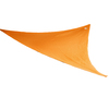 Coolaroo Orange Polyethylene Shade Sail