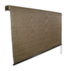 Coolaroo 120-in W x 72-in L Mocha Light Filtering Exterior Shade