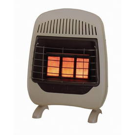 Lowe's - 3-Plaque Infrared Gas Space Heater customer ...
