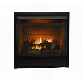 shop style selections 26 000 btu black vent free dual