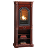 ProCom Traditional Cherry Corner Tower Mantel