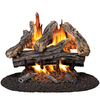 ProCom 19.8-in/16-in Vented Gas Fireplace Logs