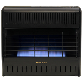 ProCom 30,000-BTU Wall-Mount Natural Gas or Liquid Propane Vent-Free Convection Heater
