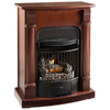 ProCom 29.13-in Heritage Cherry Vent-Free Gas Fireplace