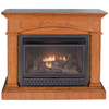 ProCom 43.46-in Medium Oak Vent-Free Gas Fireplace