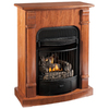 ProCom 29.13-in Light Oak Vent-Free Gas Fireplace