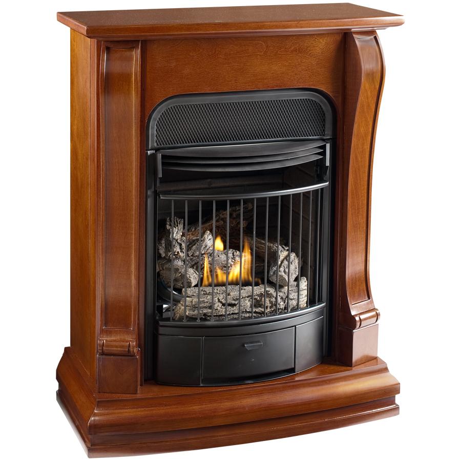 shop cedar ridge hearth 29 1 8 sienna vent free gas