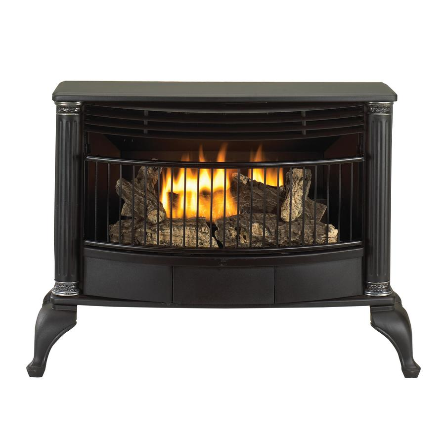 corner or wall mount liquid propane and natural gas stove at