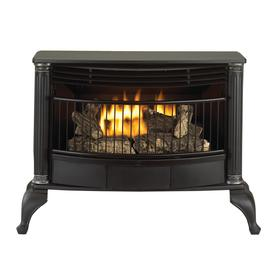 Cedar Ridge Hearth 1,000-sq ft Dual-Burner Vent-Free Corner or Wall-Mount Liquid Propane and Natural Gas Stove
