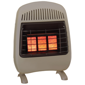 Cedar Ridge Hearth 20,000-BTU-Mount Vent-Free Infrared Heater