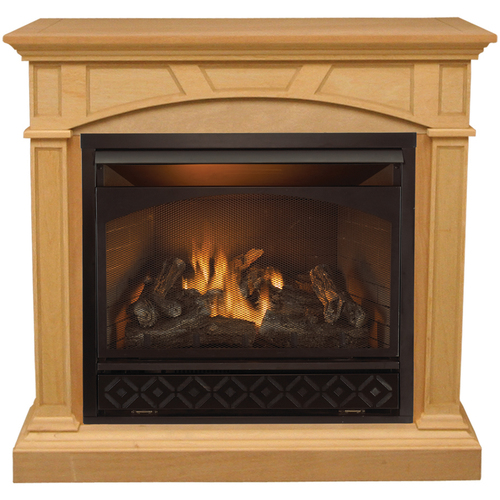 Procom Compact Vent Free Gas Fireplace From Lowes Fireplaces Heat House