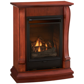 Cedar Ridge Hearth 29.13-in Sienna Vent-Free Gas Fireplace