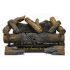 Cedar Ridge Hearth 30-in 32,000-BTU Pan-Burner Vent-Free Gas Fireplace Logs with Thermostat with Remote Control