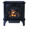 Cedar Ridge Hearth 1,000-sq ft Dual-Burner Vent-Free Liquid Propane and Natural Gas Stove