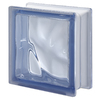 Design It 5-Pack 7-1/2-in x 7-1/2-in x 3-1/8-in Blue Glass Block