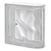 Design It Glass Block (Common: 8-in H x 8-in W x 3-in D; Actual: 7.5-in H x 7.5-in W x 3.15-in D)
