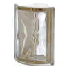 Design It Glass Block (Common: 8-in H x 6-in W x 3-in D; Actual: 7.5-in H x 6-in W x 3.15-in D)