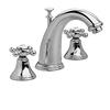 JADO Classic Polished Chrome 2-Handle Widespread WaterSense Bathroom Sink Faucet (Drain Included)