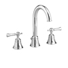 JADO Hatteras Polished Chrome 2-Handle Widespread WaterSense Bathroom Sink Faucet (Drain Included)