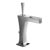 JADO Pyke Polished Chrome 1-Handle Single Hole WaterSense Bathroom Sink Faucet (Drain Included)