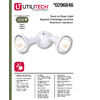Utilitech 2-Light 150-Watt Bronze Dusk-to-Dawn Security Light
