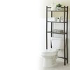 Style Selections 25.25-in W x 61.5-in H x 8.5-in D Etagere