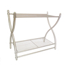 Style Selections 18.88-in W x 16.38-in H x 9.25-in D Steel Wall Mounted Shelving