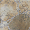 FLOORS 2000 12-Pack 13-in x 13-in River Rock Green Glazed Porcelain Floor Tile