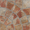 FLOORS 2000 12-Pack 13-in x 13-in Old World Red Glazed Porcelain Floor Tile