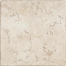 Del Conca 12-in x 12-in Rialto White Thru Body Porcelain Floor Tile