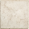 Del Conca 6-in x 6-in Rialto White Thru Body Porcelain Bullnose Trim