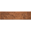 Del Conca Rialto Terra Thru Body Porcelain Indoor Outdoor Bullnose Tile (Common: 3-in x 12-in; Actual: 3.15-in x 11.81-in)