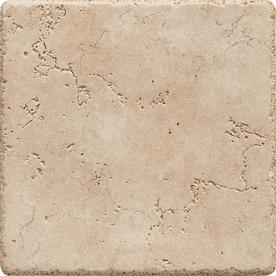 Del Conca 6-in x 6-in Rialto Beige Thru Body Porcelain Square Accent Tile