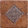 Del Conca Rialto Terra Thru Body Porcelain Square Accent Tile (Common: 6-in x 6-in; Actual: 5.91-in x 5.91-in)