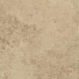 Del Conca Roman Stone Noce Thru Body Porcelain Indoor/Outdoor Floor Tile (Common: 12-in x 12-in; Actual: 11.81-in x 11.81-in)