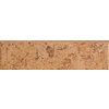 Del Conca 3-in x 12-in Roman Stone Salmon Thru Body Porcelain Bullnose Tile