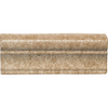Del Conca Roman Stone Noce Porcelain Chair Rail Tile (Common: 2-in x 6-in; Actual: 2.17-in x 5.91-in)