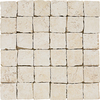 Del Conca 12-in x 12-in Rialto White Thru Body Porcelain Square Accent Tile