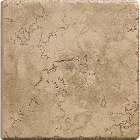 Del Conca 6-in x 6-in Rialto Noce Thru Body Porcelain Bullnose Trim