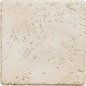 Del Conca 6-in x 6-in Rialto White Thru Body Porcelain Square Accent Tile