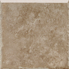 Del Conca 6-in x 6-in Giotto Stone Mocha Thru Body Porcelain Bullnose Trim