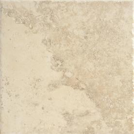 Del Conca 12-in x 12-in Roman Stone Beige Thru Body Porcelain Floor Tile